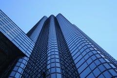 Blue skyscraper abstact Royalty Free Stock Photos
