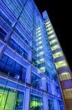 Blue skyscraper - Modern architecture in Zurich Stock Photography