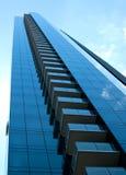 Blue skyscraper vertical Royalty Free Stock Photo