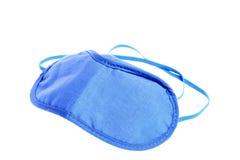 Blue sleeping mask isolated Stock Photo