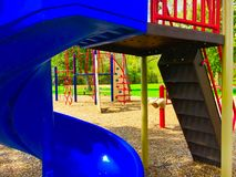 Blue Slide Royalty Free Stock Images