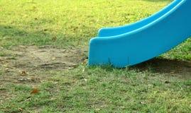 Blue Slide. For kids Stock Photos