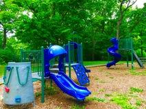 Blue Slides Royalty Free Stock Image
