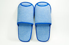 Blue Slippers Stock Images