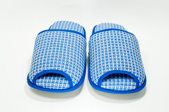 Blue Slippers Royalty Free Stock Images