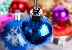 Blue small fir ball Stock Image