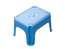 Blue small Stool Stock Images