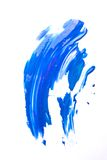 Blue smear Stock Photography