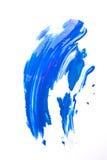Blue smear Stock Photography