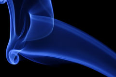 Blue Smoke 11 Royalty Free Stock Photo