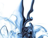 Blue Smoke. A photo of some blue smoke Royalty Free Stock Photo