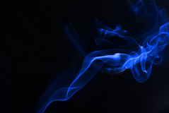 Blue Smoke Stock Images
