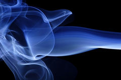 Blue Smoke 3 Stock Photos