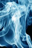 Blue smoke Stock Photo