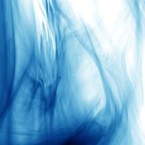 Blue smoke. Natural abstract backgrounds Royalty Free Stock Images