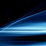 Blue smoke. Abstract background close up Stock Photos