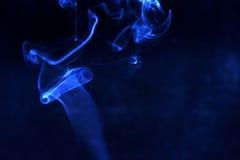 Blue smoke Stock Photos