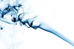 Blue smoke Stock Photography
