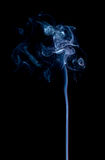 Blue smoke abstract Royalty Free Stock Images