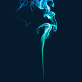 Blue smoke Royalty Free Stock Photography