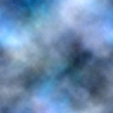 Blue smoke background Royalty Free Stock Image