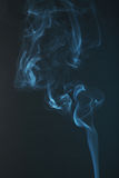 Blue smoke background close up Stock Photo