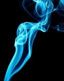 Blue smoke Stock Image