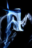 Blue smoke Stock Photos
