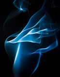 Blue smoky abstract background. Blue pretty smoke  abstract background Royalty Free Stock Photo