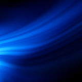Blue smooth twist light lines background. EPS 8 Royalty Free Stock Photos