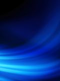 Blue smooth twist light lines background. EPS 10 Stock Photo