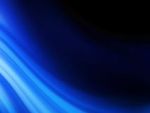 Blue smooth twist light lines background. EPS 10 Royalty Free Stock Image