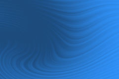 Blue smooth twist light lines background Stock Image