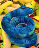 Blue snake Royalty Free Stock Images