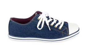 Blue sneaker Stock Photography