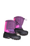 Blue Snow Boots Royalty Free Stock Photography