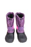 Blue Snow Boots Stock Image