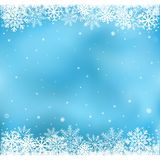Blue snow mesh background Royalty Free Stock Photography