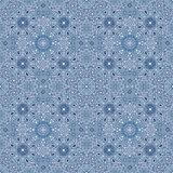Blue snow pattern Royalty Free Stock Images