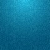 Blue snow pattern Stock Photography
