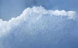 Blue snowbank abstract background Stock Photos