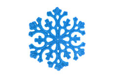 Blue snowflake Stock Photos