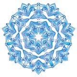 Blue Snowflake Ilustration Stock Image