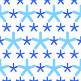 Blue snowflakes textured with gray dots Royalty Free Stock Image