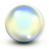 Blue soap bubble Stock Images