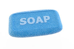 Blue soap Stock Photography