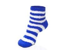 Blue Socks Royalty Free Stock Photo