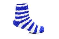 Blue Socks Royalty Free Stock Photography