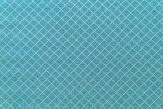 Blue sofa linen fabric texture for background.  Stock Photography