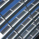 Blue solar cells Stock Photography